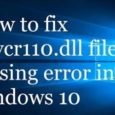 msvcr110-dll-is-Missing-error