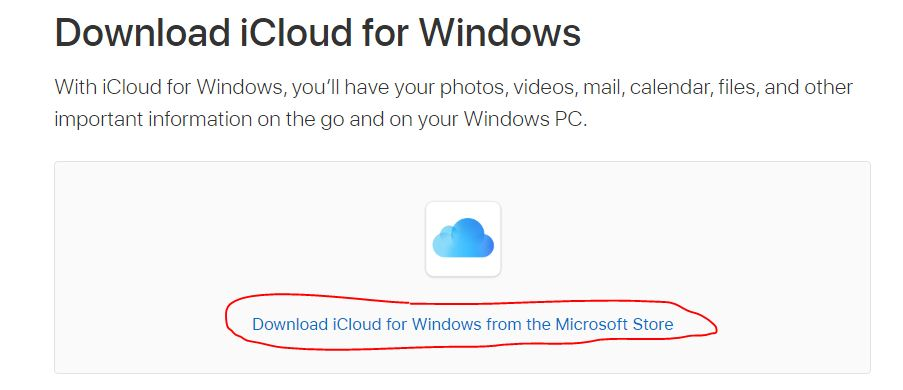 icloud-for-windows